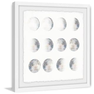 Marmont Hill - Handmade Moon Phase Framed Print