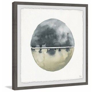 Link to Marmont Hill - Handmade Blue Reflection Framed Print Similar Items in Art Prints