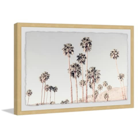 Marmont Hill - Handmade Palm Tree Overload Framed Print