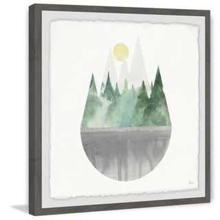 Link to Marmont Hill - Handmade Forest Sun Framed Print Similar Items in Art Prints