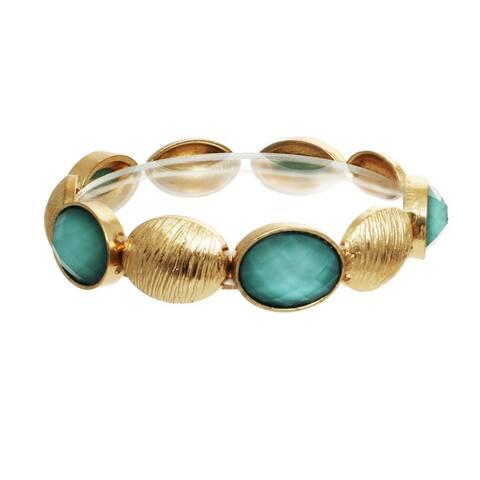 Oval Faceted Bracelet