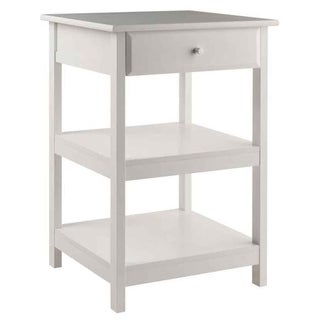 Winsome Delta Composite Wood Printer Stand - White