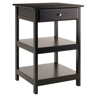 Winsome Delta Composite Wood Printer Stand - Black