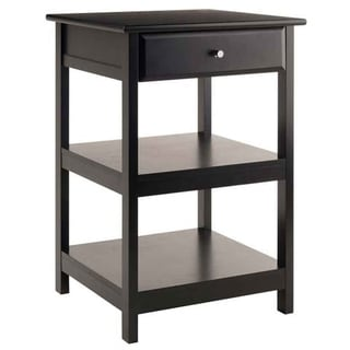 Winsome Delta Composite Wood Printer Stand - Black