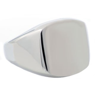 Divina Brushed Stainless Steel ID Ring