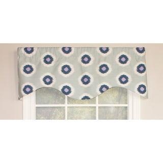 RLF Home Ikat Domino Cornice Window Valance