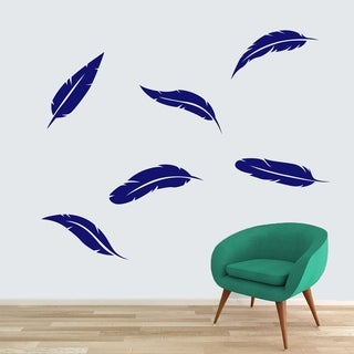 Feathers Wall Decal Set - MEDIUM