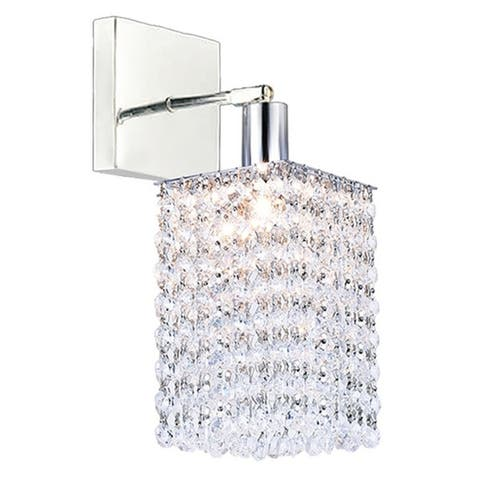 Silver Orchid Lloyd Chrome 1-light Wall Sconce