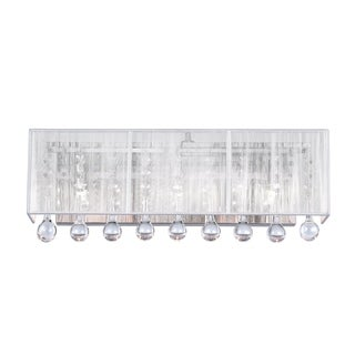 Link to Silver Orchid Keaton Chrome 3-light Wall Sconce Similar Items in Sconces