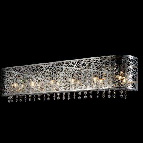 Silver Orchid Garvin Chrome 4-light Wall Sconce