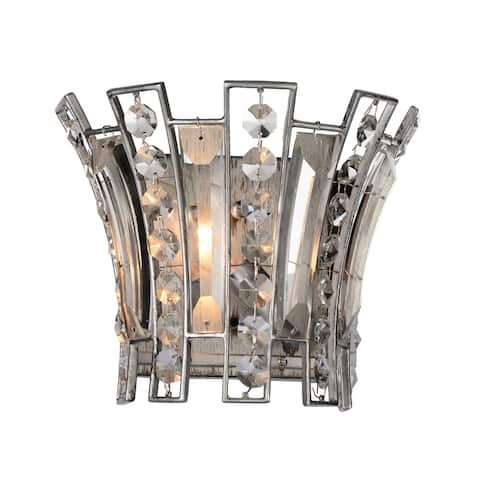 The Gray Barn Braying Hill 1-light Wall Sconce with Antique Forged Silver Finish