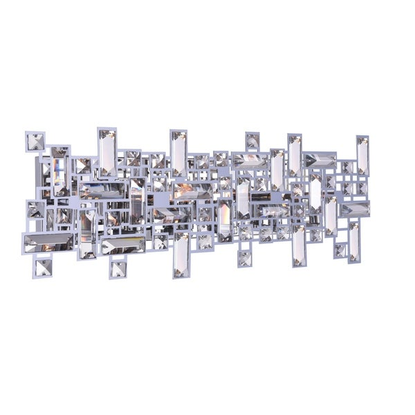 Silver Orchid Bunny 6-light Wall Sconce with Chrome Finish. Opens flyout.