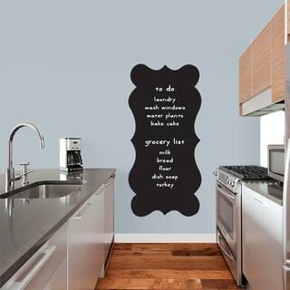 Fancy Chalkboard Wall Decal
