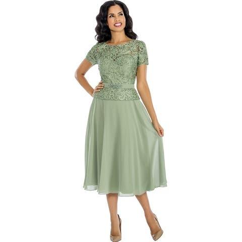 Buy Size 24 Mid Length Evening Formal Dresses Online At Overstock