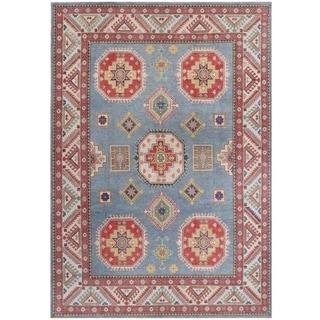 Handmade Kazak Vegetable Dye Wool Rug (Afghanistan) - 8'4 x 12'1