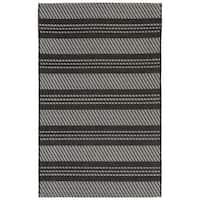 Double Stripe Outdoor Rug - 7'10 x 9'10
