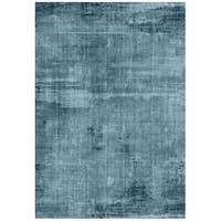 Pond Blue Abstract Outdoor Rug - 7' 10 x 9' 10