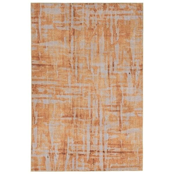 Liora Manne Grid Outdoor Rug (3'3 x 4'11) - 3'3 x 4'11