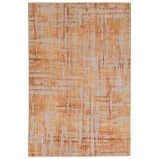 Liora Manne Grid Outdoor Rug (4'11 x 7'6) - 4'11 x 7'6