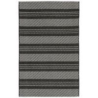 Double Stripe Outdoor Rug (4'10 x 7'6) - 4'10 x 7'6