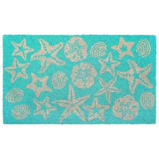 "Liora Manne Sea Jewels Coir Welcome Door Mat (1'6"" x 2'6"")"