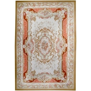 Wool Aubusson Rug - 12' X 18'