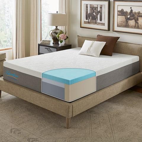 Slumber Solutions Signature 14-inch NRGel Memory Foam Mattress