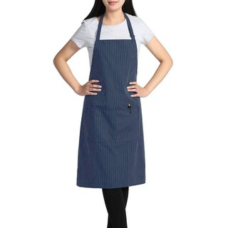 "Chama 2 Pockets Bib Apron 33.5"" x 24.5"" (Pack of 2pc of same color)"