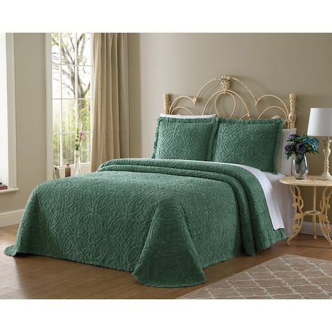 Hamilton Hall Kate Wedding Ring Chenille Bedspread