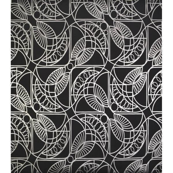 Cooper Cartouche Wallpaper 20.8 In. x 32.8 Ft. = 56.9 Sq. Ft.