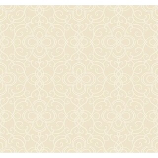 Edgewater Cameo Wallpaper 27 In. x 27 Ft. = 60.75 Sq.Ft.