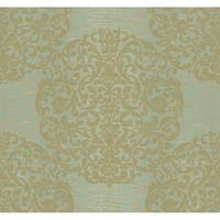 Bartow Marquette Wallpaper 27 In. x 27 Ft. = 60.75 Sq.Ft.