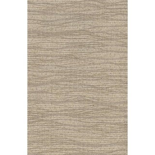 Cocoa Horizontal Waves Wallpaper 36 In. x 24 Ft. = 72 Sq. Ft.