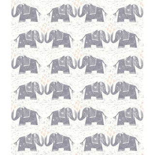 Callaway Elephants Love Wallpaper 20.5 In. x 33 Ft = 56 Sq. Ft.