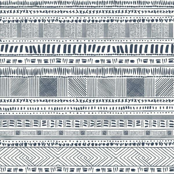 Callaway Tribal Print Wallpaper 205 In X 33 Ft 56 Sq
