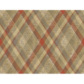 Biscayne Diamond Plaid Wallpaper 27 In. x 27 Ft. = 60.75 Sq.Ft