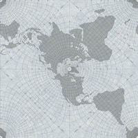 Biscayne Maritime Map Wallpaper 20.5 In. x 33 Ft. = 56 Sq.Ft