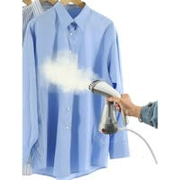 True & Tidy Hand Held Clothes Steamer w/Stainless Steel Nozzle, Gray