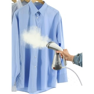 Link to True & Tidy Hand Held Clothes Steamer w/Stainless Steel Nozzle, Gray Similar Items in Laundry
