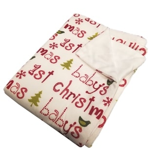 Link to BOON Christmas Baby Microplush Blanket Similar Items in Baby Blankets
