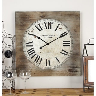 The Gray Barn Jartop Wood Wall Clock