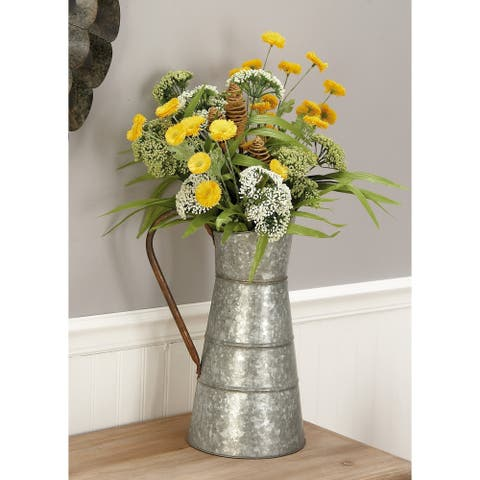The Gray Barn Jartop Galvanized Metal 16-inch x 10-inch Watering Jug