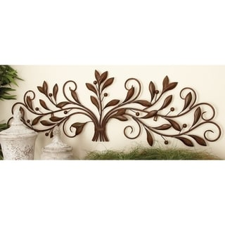 Copper Grove Kitty Metal 47-inch x 15-inch Wall Decor