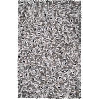 Carbon Loft Della Hand-woven New Zealand Felted Wool Stone Look Textured Area Rug - 9' x 13'