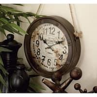 The Gray Barn Jartop Styled Metal Wall Clock (Set of 3)