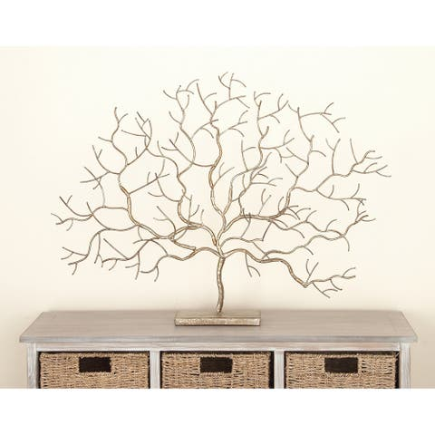 The Curated Nomad Goodman Metal Tree Sculpture