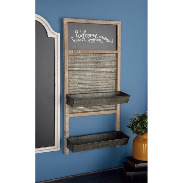 The Gray Barn Jartop Metal/ Wood Shelf