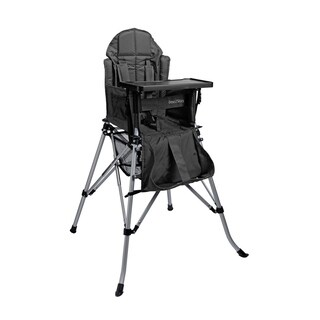 One2Stay Comfort Portable Baby High Chair with Dining Tray - Black