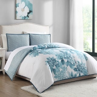 White Birch Brooklyn Floral Reversible 2 & 3 Piece Comforter Set