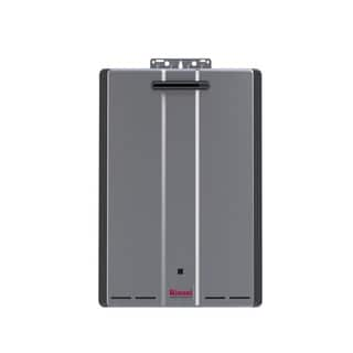 Rinnai Tankless Water Heater (Ext CTWH 199k Btu 11gpm max w/Valve) RU199eP Silver
